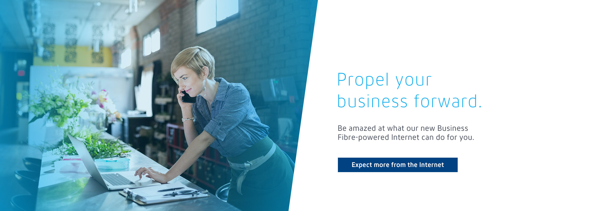 Propel your business forward.