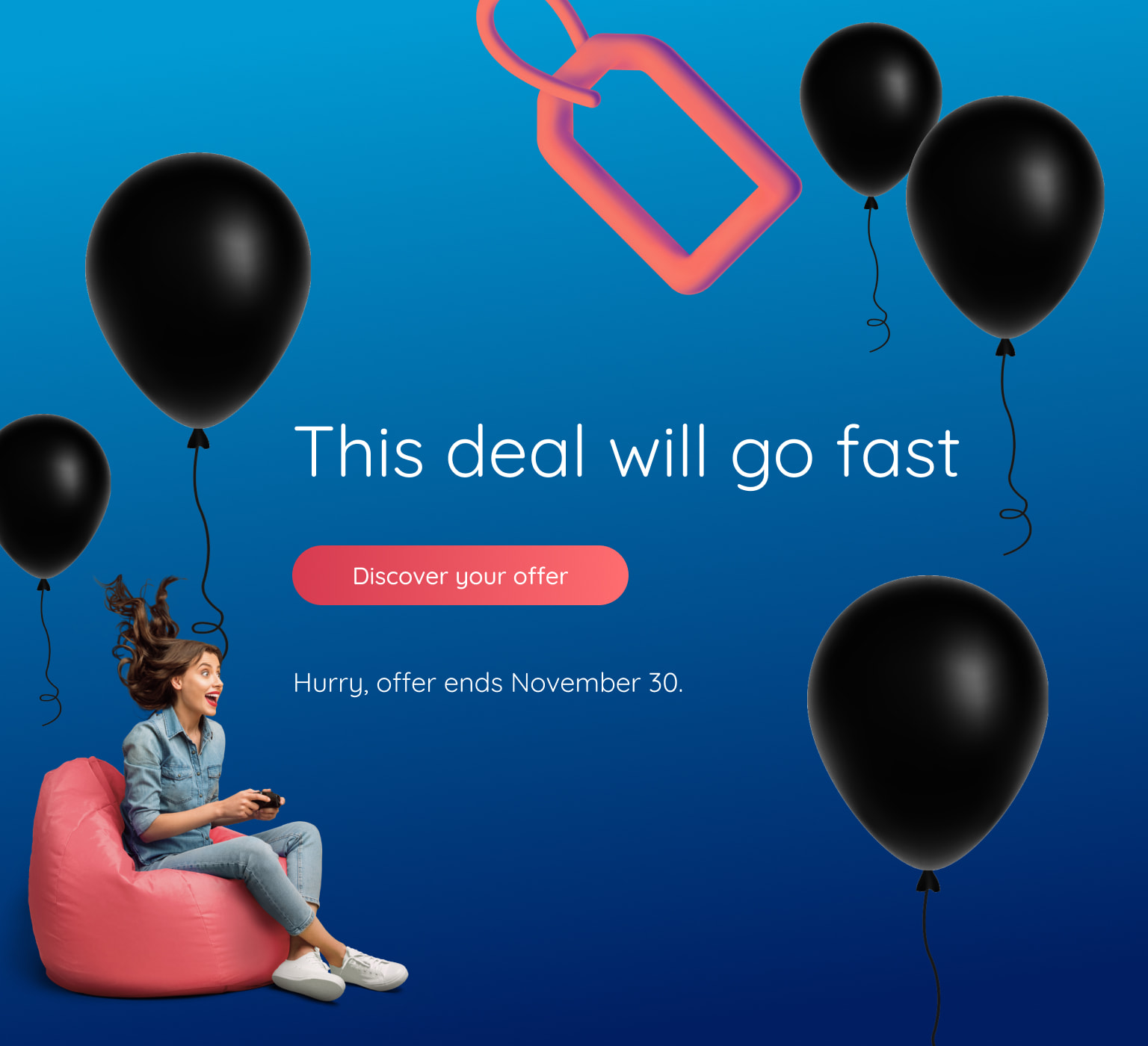 Deal of the decade Get guaranteed savings for 10 years on our fastest Internet, and more.  Hurry, offer only available until November 30.