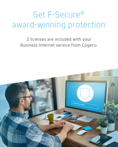 Get business-grade protection with F-Secure