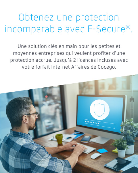 Get business-grade protection with F-Secure®.