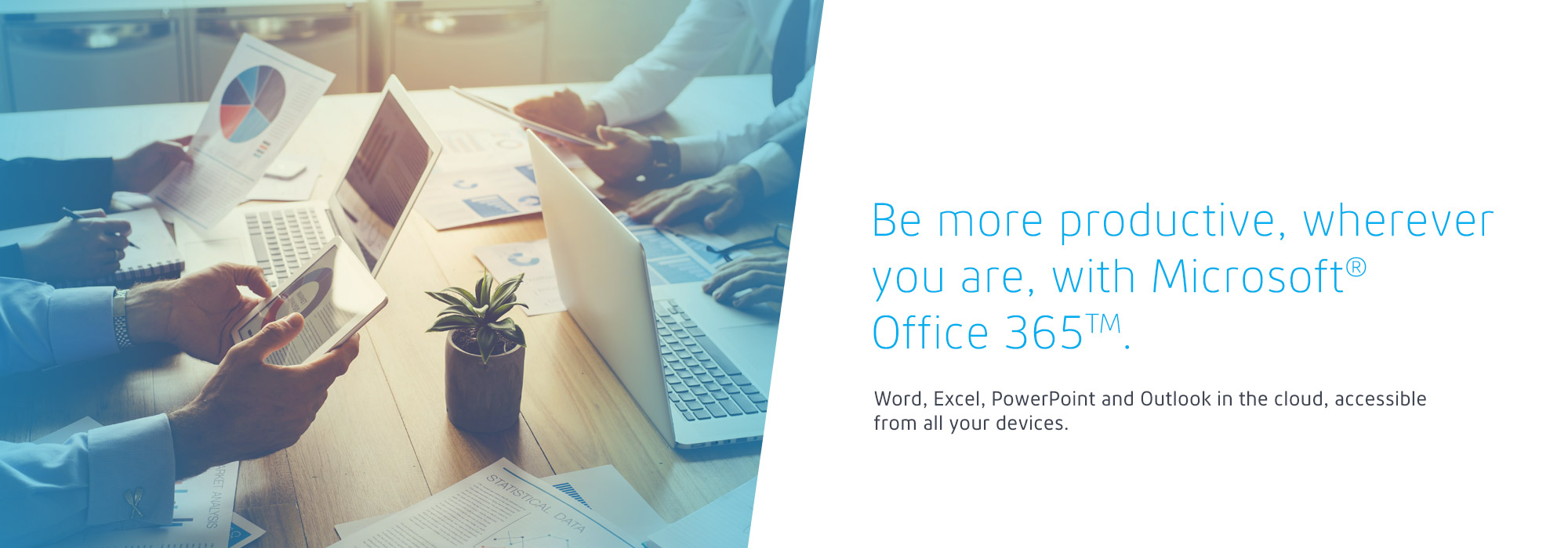 Be more productive, wherever you are, with Microsoft Office 365
