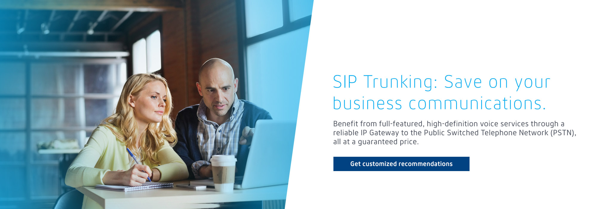SIP Trunking: Save on your business communications.