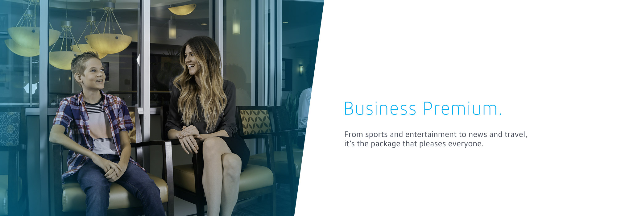 Business Premium: From sports and entertainment to news and travel, it's the package that pleases everyone.
