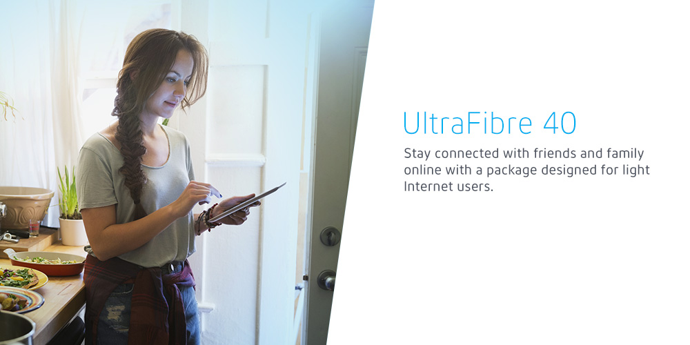 Easily manage your day-to-day online needs with a package perfect for light downloading.