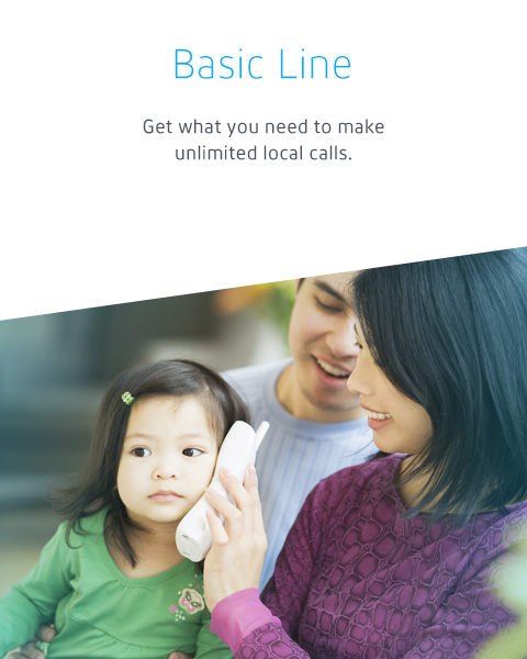 Get what you need to make unlimited local calls.
