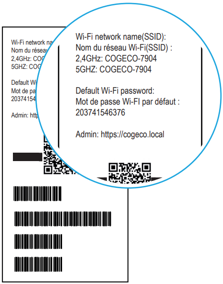 Where Can I Find My Default Network Name And Wi Fi Password Cogeco