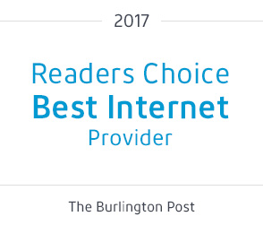 Readers Choice Best Internet Provider - The Burlington Post