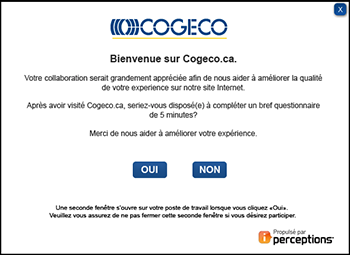 Cogeco Survey FR