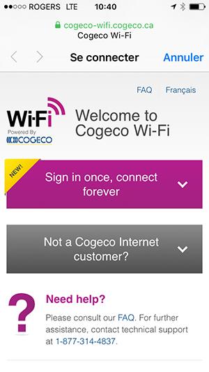 WiFi Login Page EN