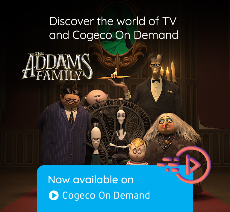 Discover the world of TV and Cogeco On Demand. Now available on Cogeco On Demand