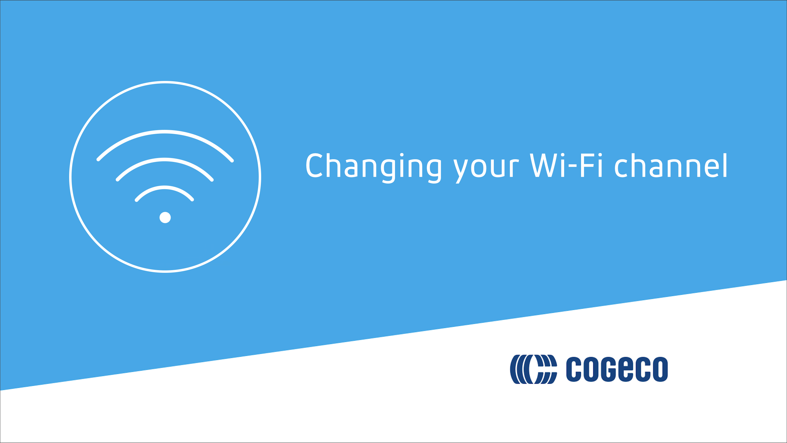 Changing your WI-FI channel